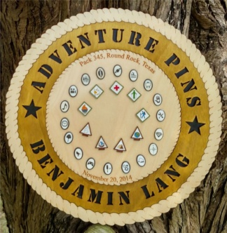 Adventure Pin Plaque