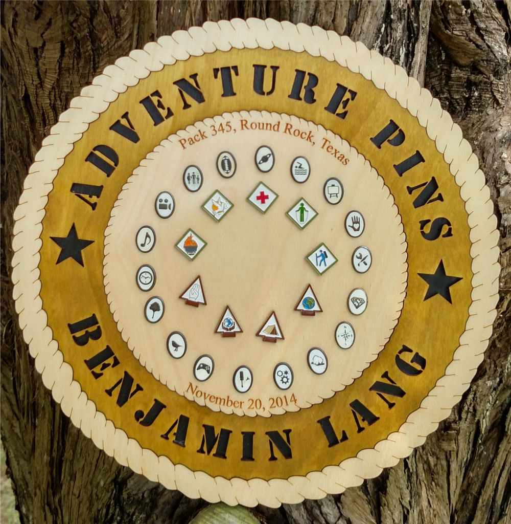 Adventure Pin and Belt Loops