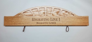 Arrow Display Plaque Style #1