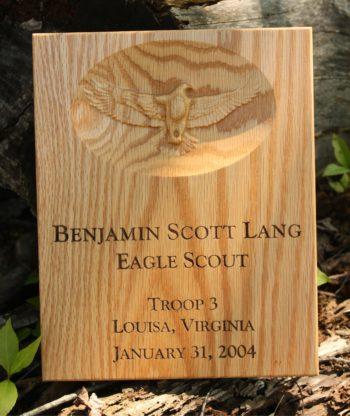 Eagle Scout Plaques