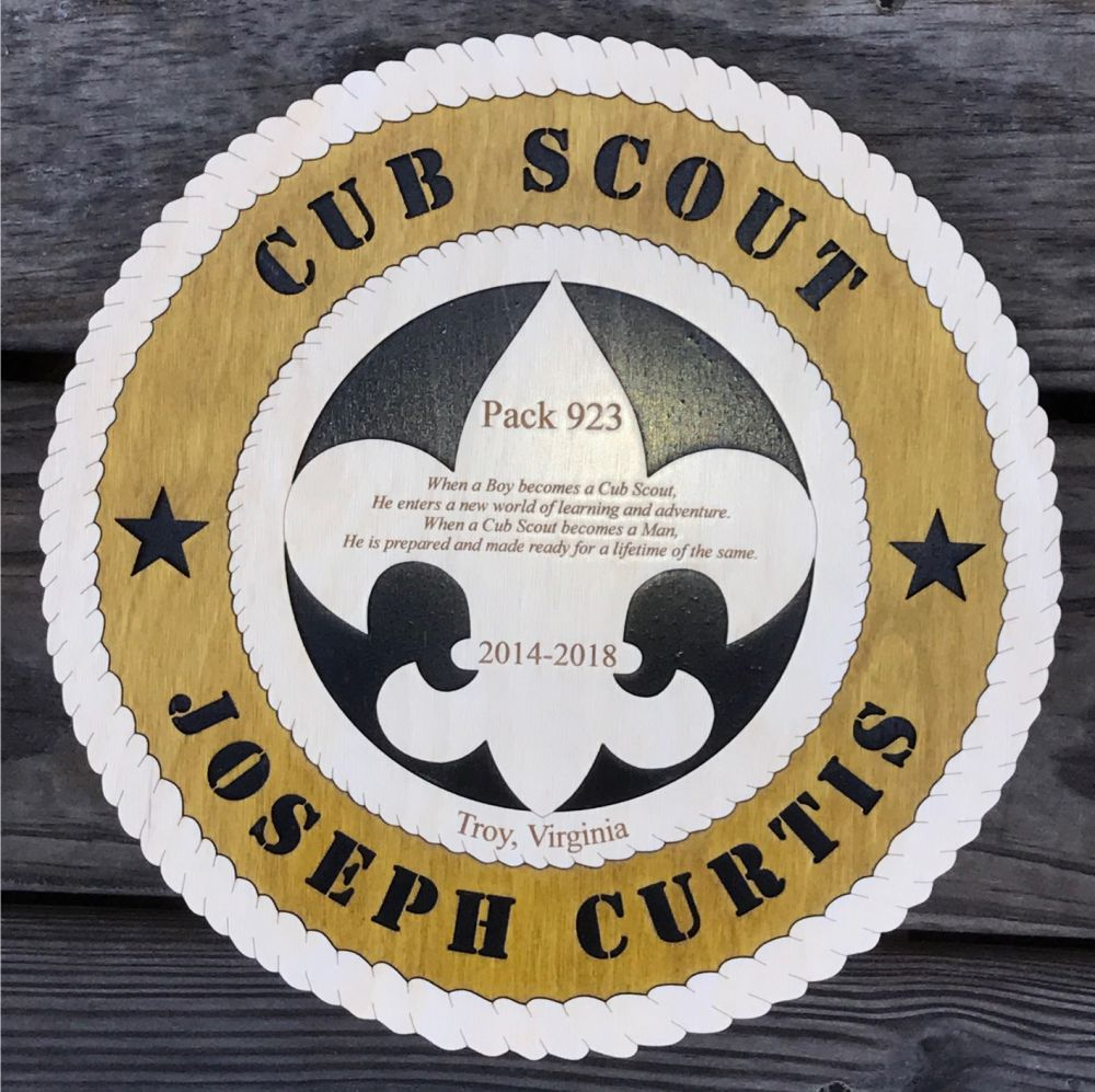 Cub Scout Participation Award