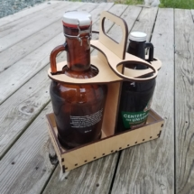 Collapsable Growler Caddie