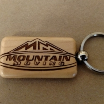 Mountain Moving Key Chain
