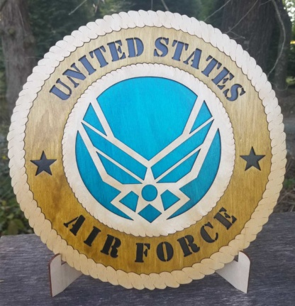 Large Air Force new logo Tribute