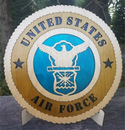 Large Air Force old logo Tribute