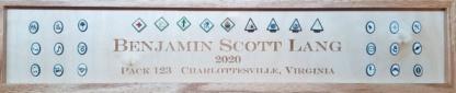 Adventure Pin Frame Closeup