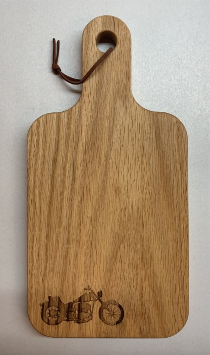 Classic Motorcycle Cutting Board
