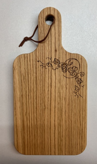 Grape Vine thin leaf Cutting Board