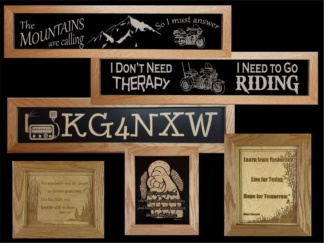 Framed Signs